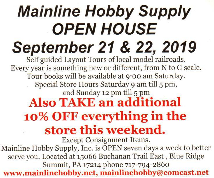 Mainline Hobby Supply